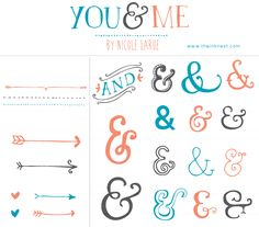 You & Me clip art $8