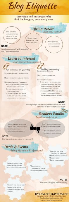 Blog Etiquette