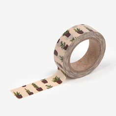 30 Succulent washi tape - plants masking-craft supplies- scrapbooking- card making- weddings-decorative tape- packaging-dailylike by Dailylike on Etsy