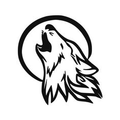 How to Draw a Howling Wolf Tattoo Tribal Howling Wolf Step by Step Tattoos Pop Culture FREE Online Drawing Tutorial Added by Dawn Sep. Wolf Tattoos, Tribal Wolf Tattoo, Tribal Tattoos, Tattoo Animal, Tattoos Skull, Celtic Tattoos, Sleeve Tattoos, Howling Wolf Tattoo, Wolf Howling At Moon
