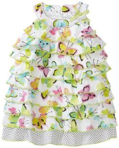 Biscotti Baby-girls Infant Flutter Dress $70