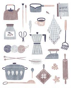 DIY elements for Flair magazine, Netherlands by nastia sleptsova