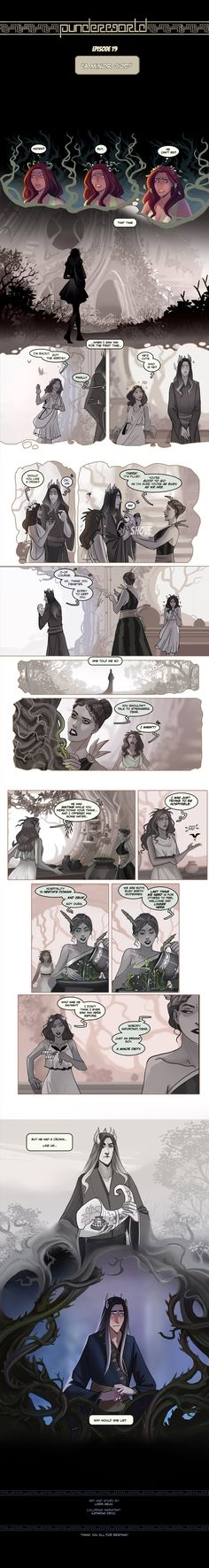 Comics Story, Fun Comics, Greek Mythology Humor, Supernatural Drawings, Hades And Persephone, Horror Comics, Comic Panels, Greek Gods, Easy Paintings