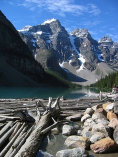 Moraine Lake in Banff National Park, Canadian Rockies#Repin By:Pinterest++ for iPad#
