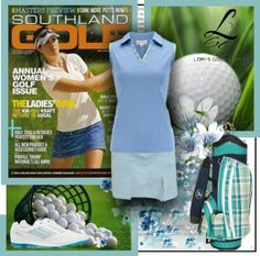 Want a comfy and stylish way to play golf? Check out a wide variety of golf look exclusive at lorisgolfshoppe.polyvore.com #golf #polyvore #lorisgolfshoppe