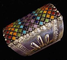 Multi - color Ring - Native American and Southwest Art and Jewelry ? Turquoise Tortoise Gallery, Sedona