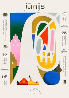 I love the emotion this poster evokes. I can't say for sure if the content ties to the form but I think the layout is beautiful Kids Graphic Design, Graphic Design Posters, Graphic Design Inspiration, Dm Poster, Poster Layout, Jazz Poster, Text Layout, Poster Ideas, Illustration Design Graphique