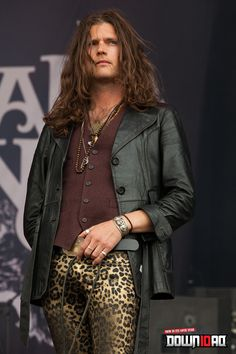 "This isn't ""yes.""   This is ""Oh, hell yes!""    Jay Buchanan - Rival Sons"