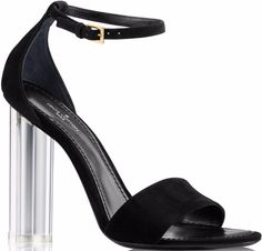 b49f7c0eebc2 Louis Vuitton Crystal Flower Sandals Clear Heel Shoes, Shoes Heels Pumps,  High Heels,