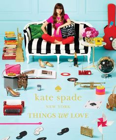 Kate Spade New York: Things We Love. This book has been on my wish list since it came out!