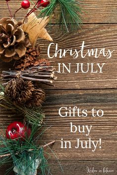 Christmas in July –