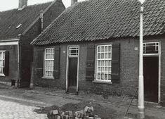 Weverswoningen Berkdijksestraat, 1955. Bron: Regionaal Archief Tilburg, BOL 014740.