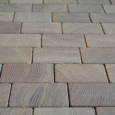 Holzpflaster   Slow Living, Floors, Crafts, Inspiration, Pavement, Wood, Home Tiles, Biblical Inspiration, Manualidades