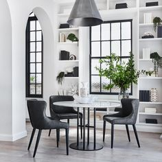 The perfect pair. Featuring the Flex Dining Table and Markson Dining Chair. In stock now. #CocoRepublic #interiors #dining #home