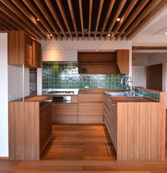 Japanese Furniture, Narrow House, Future House, Home Kitchens, House Plans, Kitchen Cabinets, Architecture, Room, Design
