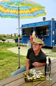 The Jolly Oyster: SEEDS, SEA AND GASTRONOMY- Ventana Monthly The Jolly Oyster, Ventura State Beach, Pacific Oysters http://www.thejollyoyster.com/