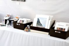 Art Fair Booth Photo 3 | My matted photographs in bins and m… | Flickr