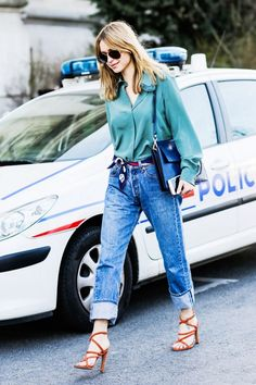The New Way to Style Your Jeans This Winter | WhoWhatWear