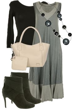 Love the grey and black