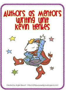 In the Lucy Calkins' Units of Study for K-2, she suggests a unit in which students study the writing craft of an author. My students LOVE Kevin Hen...