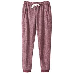 Pink Queen Red Loose Zipper String Ladies Cool Fashion Leisure Pants ($26) ❤ liked on Polyvore featuring pants, jeans, red, loose pants, loose fitting pants, red trousers, loose fit pants and red pants