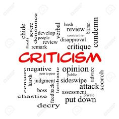 How To Handle Criticism And Failure Simply Learning, No One Is Perfect, Feeling Depressed, Stop Worrying, Live In The Present, Ups And Downs, Be True To Yourself, Dont Understand, Kinds Of People