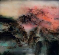 """Saatchi Online Artist Chris Veeneman; Painting, """"Plexi N°12, L'Ecosse"""" #art"""