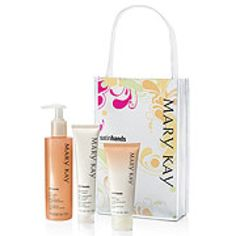 Satin hands pampering set- Mary Kay by far the GREATEST hand scrub ever made!!!