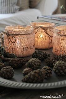 The Unusual Farmchick: Cosy candles!