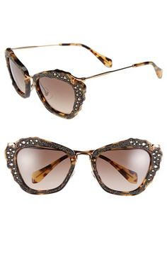 Miu Miu 55mm Sunglasses available at #Nordstrom