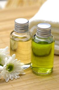 Mint Vinegar Toner made from fresh or dried mint.