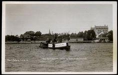Østfold fylke Fredrikstad  Overfart mellem vestre og östre Fredrikstad. Utg Sigurd Östberg Brukt 1910