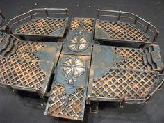 3D Deathwatch gameboard! Necromunda, Inquisitor, Inquisimunda, Inq28, wh40k, Genestealer Cult.