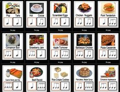 Teaching rhythm with food! (warning: may cause intense hunger)