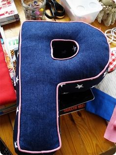p for paula just wanted to share a letter shaped cushion i made for a little girl called paula i havent made p before so i am quite ha