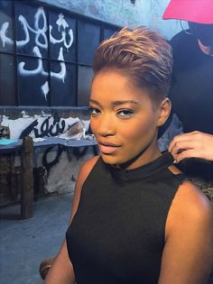 KeKe Palmer's Has 'Found Herself' In Her New Hair Color And Cut  Read the article here - http://www.blackhairinformation.com/general-articles/celebrities/keke-palmers-found-new-hair-color-cut #KekePalmer #newhaircut #celebrities