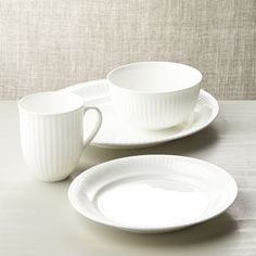 Olivia 4-Piece Place Setting - Crate and Barrel