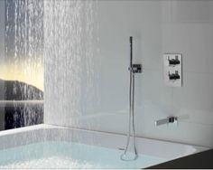 Salle de bains d'avant-garde (2/2) C'est déjà demain #travaux #salledebain #avantgardiste maison.neopodia.com