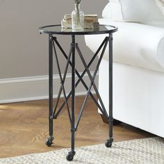 Minot Chairside Table #birchlane