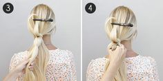 Pull-Through with a Stacked Braid: Steps 3-4