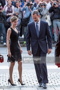 King Felipe VI of Spain and Queen Letizia of Spain attend the inaguration of the Royal Theatre Season on September 15 2016 in Madrid Spain