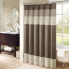 Striped Shower Curtain « Shower Curtains « Curtains Emporium
