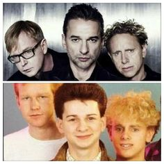 Love these guys, So Much!! They've been in my life for 25 years now. I'm glad to see them so well. Specially Dave, who has a great life with his beautiful family ♥ All the best for all of you guys,always! Dave Gahan, Martin Gore and Andy Fletcher (Alan Wilder, you are here too) : Thank you so much. Depeche Mode, touching my soul For Ever ♡