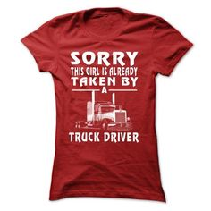 TRUCKER WIFE T Shirts, Hoodies, Sweatshirts. CHECK PRICE ==► https://www.sunfrog.com/Automotive/TRUCKER-WIFE-Red-Ladies.html?41382