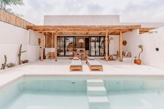 """Stay @ Yucca's Instagram post: """"Our luxurious one bedroom villa with private pool☀️ #yuccavillas by @baliinteriors"""" Villa With Private Pool, One Bedroom, Luxury, Instagram Posts, House, Villas, Decoration, Decor, Home"""