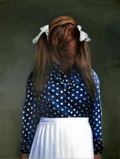 EWA JUSZKIEWICZ Polka Dot Top, High Waisted Skirt, Tulle, Skirts, Paintings, Surrealism, Tops, Dreams, Women