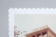 German designer Werner Aisslinger has developed the LoftCube, Florian Weitzer has put it on the roof of Hotel Daniel in Graz. Branding, Brand Identity, Paper, Design, Places, Brand Management, Identity Branding
