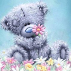 NEW Arrival diy Diamond embroidery cartoon Bear diamond painting Cross Stitch full square drill Rhinestone mosaic child gift Tatty Teddy, Cute Images, Cute Pictures, Photo Ours, Teddy Bear Quotes, Teddy Bear Pictures, Teddy Images, Blue Nose Friends, Love Bear