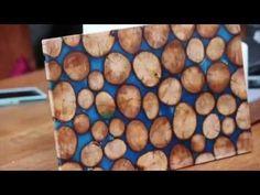 "Стол ""Срез дерева"" часть 2 - Table ""Cut wood"" part 2 - YouTube"