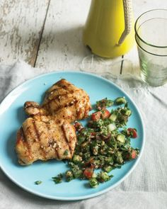 "See the ""Grilled Lemon Chicken with Tabbouleh"" in our Chicken Leg Recipes gallery"